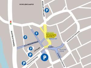 Parkings Beringen-Centrum