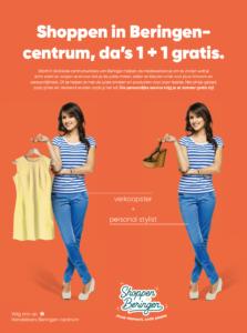 Shoppen in Beringen-centrum, da's 1+1 gratis!