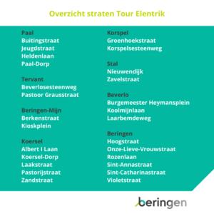 Tour Elentrik Beringen