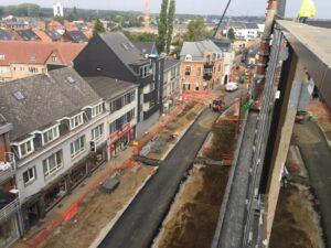 Werken Beringen-centrum