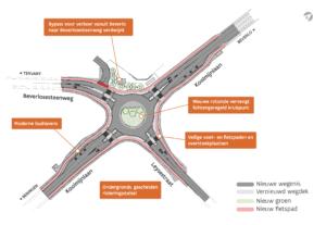 Herinrichting kruispunt Koolmijnlaan, Beverlosesteenweg en Leysestraat