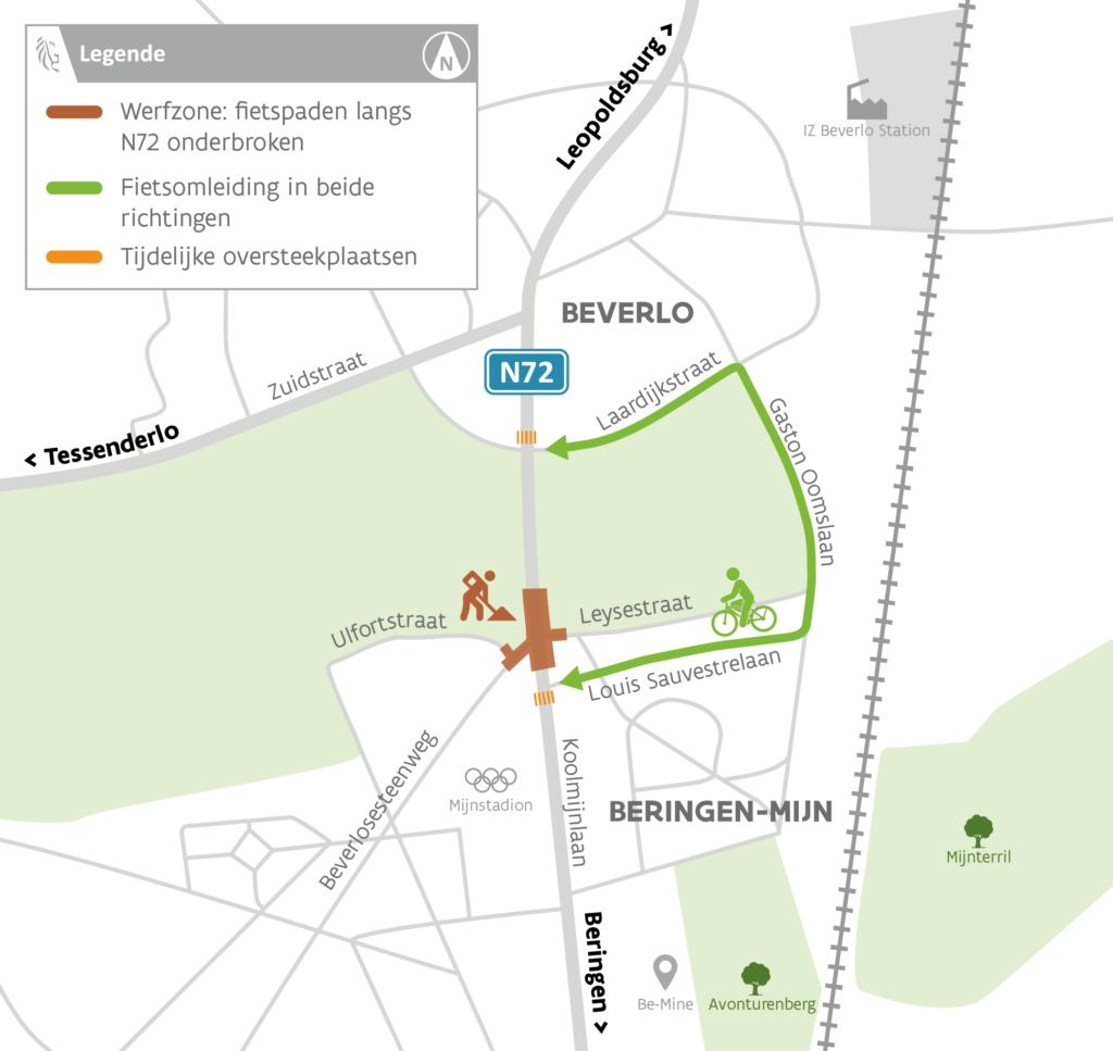 Vanaf morgen eenrichtingsverkeer op Koolmijnlaan richting Beverlo!